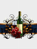 Wine and grapevine Stock Images