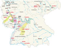 Free Wine-growing Areas Germany Royalty Free Stock Photo - 68489335