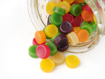 Wine gum sweets Stock Images