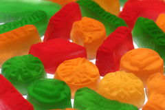 Wine gums stock image