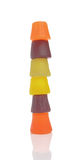 Wine Gums  on White Background Royalty Free Stock Photos