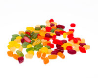 Wine gums per colour Royalty Free Stock Photo