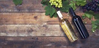 Wine header Stock Photography