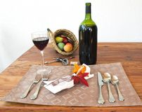 Wine for the Holidays Royalty Free Stock Photo