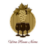 Wine house Royalty Free Stock Photography