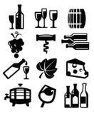 Wine icon vector illustration