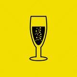 wine icon design Stock Images