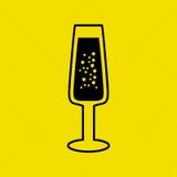 wine icon design Royalty Free Stock Image