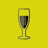 wine icon design Royalty Free Stock Photo
