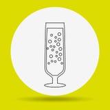 wine icon design Royalty Free Stock Photography