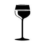Wine icon image. Wine glass icon image vector illustration design Royalty Free Stock Photo