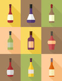 Wine icon Stock Photo