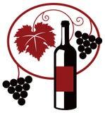 Wine illustration Royalty Free Stock Photos