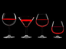Wine In Glass Royalty Free Stock Photo