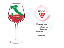 Wine, Italy Stock Images