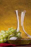 Wine jug Royalty Free Stock Images