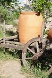 Wine jugs Royalty Free Stock Photos