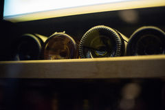 Wine keeping photo Royalty Free Stock Images