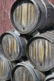Wine Kegs Stock Photography