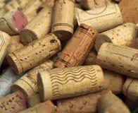 Wine korkar Royaltyfri Fotografi