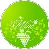 Wine Label royalty free illustration