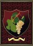Wine label Stock Photography
