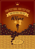 Wine label Royalty Free Stock Photos