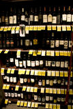 Wine, liquor, alcohol store royalty free stock photography