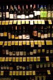 Wine, liquor, alcohol store stock photo