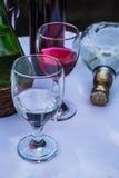 Wine and liquor Stock Image