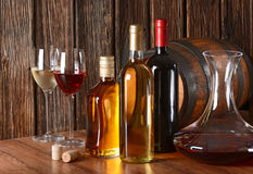 Wine and liquor Stock Photos