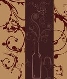 Wine list Royalty Free Stock Images