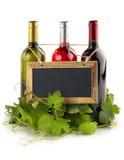 Wine list Stock Image