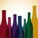 Wine List Stock Photo