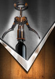 Wine List Design Royalty Free Stock Photos