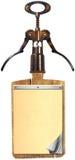Wine List Design Stock Photography