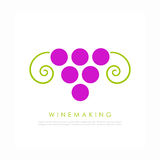 Wine  logo Royalty Free Stock Image