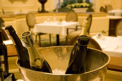 Wine in luxury restaurant Royalty Free Stock Photography