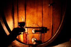 Wine Makers Glass of Wine Stock Images