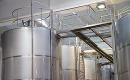 Wine Making Equipment Stock Photography