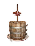 Wine making Press old isolated Royalty Free Stock Image