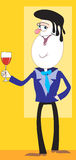 Wine man Royalty Free Stock Photos