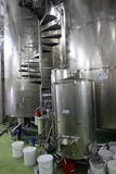 Wine manufacturing Stock Images