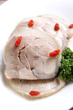 Wine marinated chicken Stock Photography
