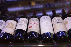 Wine market Royalty Free Stock Photo