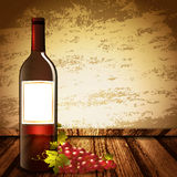 Wine Mock Up Royalty Free Stock Photo