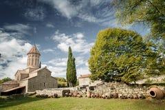 Wine, Monastery Stock Photo