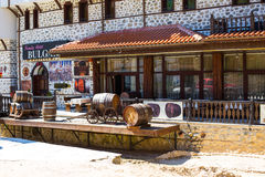 Wine museum in Melnik town, Bulgaria Royalty Free Stock Photography