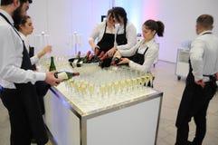 Wine och champagne Royaltyfri Bild