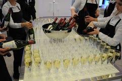 Wine och champagne Arkivbild